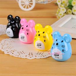 Wholesale articulos de papeleria pencil ener c373 korea stationery cute cartoon mouse pencil ener sliced