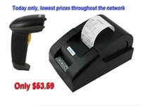 Impresoras láser portátil mini impresora térmica de recibos por mayor-alta escáner de código de barras de calidad y 58mm impresora USB
