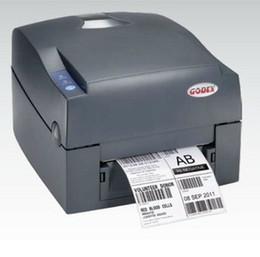 Wholesale shipping label Godex printer Barcdoe USB port stickers brand printer Support stickers paper G500u DPI