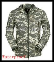 acu wind jacket - Cool Men ACU Camo Hunting Camping Ski Wind Waterproof coat jacket