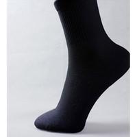 al por mayor calcetines para diabéticos-Venta al por mayor-calcetines loose tornillo engrosamiento toalla calcetines loop pila calcetines diabéticos calcetines yarda blanco o negro 10 = 5pairs