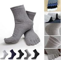 Atacado-Homens Mulheres Socks Sports Ideal para Cinco de 5 dedos Toe Calçados Unisex Hot venda