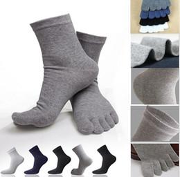 Wholesale Al por mayor Hombres Mujeres Calcetines Deportes ideal para Cinco de dedos del dedo del pie zapatos de la venta caliente unisex