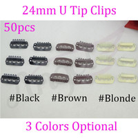 Wholesale Charlie s Angels Hair Extension Clips mm U Tip Snap Human Hair Metal Clip Tools For Wigs