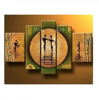 contemporary oil paintings - 2014 new piece modern abstract wall canvas art green contemporary oil painting on canvas for living room bedroom decoration