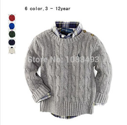 Wholesale-Free Shipping 1 pcs autumn winter kid sweater,Boys girls knitted o-Neck Sweaters pullovers coat Childrens Clothing Sweaters