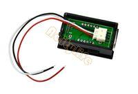 Wholesale NEW Red LED Panel Meter Mini Digital LED Voltmeter DC V To V Z