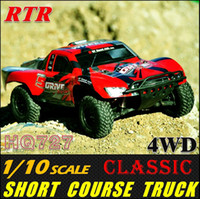 short course - HQ Scale WD off Road Short Course Truck remote control car Electronic rc cars Highly similar with traxxas Slash