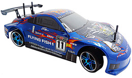 Wholesale HSP Rc Drift Car wd Electric Power On Road Drifting Racing FlyingFish Remote Control Toys Ready To Run High Speed Rc Car