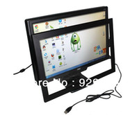 Wholesale LOWEST COST quot IR dual Touch Screen Panel IR Touch Frame Overlay with glass format
