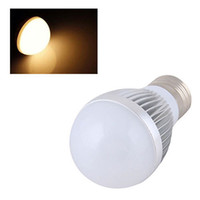 golf ball led - New Powerful Warm White E27 W Golf Ball Globe SMD LED Bead Light Bulb Spot Lamp