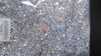 flat back gems - White Rhinestone Nail Art Decoration Gems Available Flat Back Round mm Bag High Quality Flatback