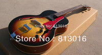 archtop guitar - NEW ES Archtop Guitar Sunburst ES125 Electric Guitar with red pearl pickguard