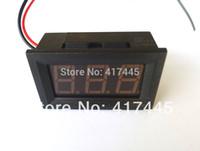 Wholesale-100pcs / Цифровой вольтметр Панель DC 3.2V до 30V напряжения метр зарядного врача