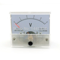 analog voltage panel meter - Voltage Meters Multimeter V DC Analog Volt Voltage Panel Current Meter Voltmeter Tester Gauge V