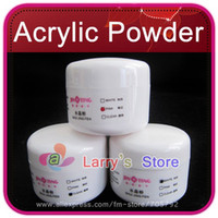 french manicure nails - New Crystal Acrylic Powder For Nail Art Tips Care Colors White Pink Clear Polymer Gel French Manicure