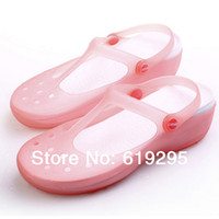 Summer Women Jelly Shoes 8CM Wedge Beach Sandals Candy Color