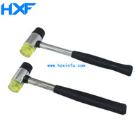 Wholesale Rubber hammer Iron handle rubber hammer Fiberglass Hammer engraving tools power reduced multi purpose for jewelry DIY tools