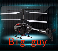 Cheap Wholesale-Super large 2.4G remote control helicopter 3 CH rc big alloy helicopter best gift helicopter control helicopter Free shipping