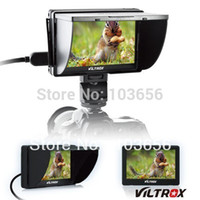 Wholesale Viltrox DC Clip Clamp on Color TFT LCD Monitor with HDMI AV Input for DSLR Camera PF175d