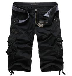 Wholesale Summer mens casual army camo cargo shorts cotton Short pants  camouflage fashion shorts men beach shorts 8 colors