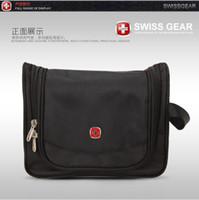 Wholesale Original Swiss messenger bag Wash gargle bag Cosmetic bag Travel bag red black