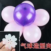 balloons and flowers - Latex balloon decoration sealing clip flower balloon for birthday party and wedding ceremony