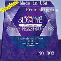 dental whitening - Pouches stripes Crest D White LUXE oral hygiene teeth tooth whitening Professional Effects Whitestrips dental white