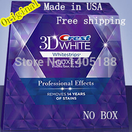 Wholesale Pouches stripes Crest D White LUXE oral hygiene teeth tooth whitening Professional Effects Whitestrips dental white