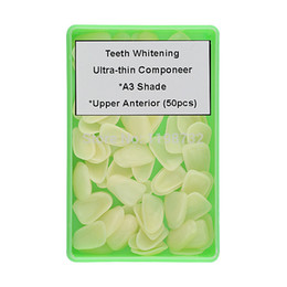 Wholesale Ultrathin Dental Componeer Direct Composite Resin Veneer Upper Anterior Teeth A3 Shade Restorative Tooth Whitening Materials