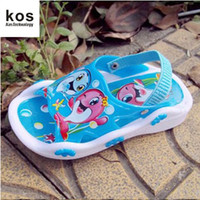 pvc sandals - new listing children s summer sandals pvc shoes kid s sandals boys girls unsex cartoon sandals slippers sound