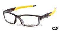 Wholesale plain glass spectacles crosslink fashion sport optical frames for prescription glasses