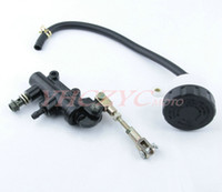 atv brake levers - Pull pull brake rear master cylinder rear brake pump modified motorcycle customized scooter ATV