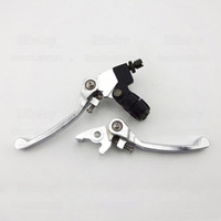 atv pit - Folding Brake Clutch Levers Straight for Stomp Thumpstar YCF SSR cc cc CRF XR KLX Dirt Pit Bike ATV Quad Buggy Go Kart