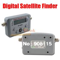 Wholesale SF DR Digital Satfinder with LCD DIRECTV Dish FTA Digital Displaying For TV Satellite Finder Meter