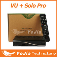 RCA Yes DVB-S2 Tuner Wholesale-2pcs VU+ SOLO PRO tuner dvb S2 satellite tv receiver mini vu solo support Yutube PPTV OpenLi Linux operating Free Shipping