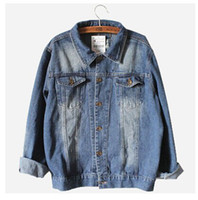 blue jean jacket - new oversized denim jacket spring jaqueta jeans casacos femininos women coat denim jacket retro women blue jean jackets