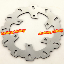 Wholesale-For Yamaha 2004-2006 XT660R & YZF600R THUNDERCAT 1996-2007 Stainless Steel New Rear Brake Disc Rotor Part