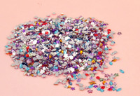flat back gems - Mixed Shape Rhinestones Acrylic Decoration Flat back Gems Nail art decoration