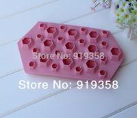 diamond ice cubes - New Diamond Mold Fondant Cake Decoration Mold Ice Cube Tray Cavities Crystal Silicone Ice Mold Candy Mold