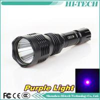 Cheap Wholesale-Purple Light Torch Q5 CREE UV LED Flashlight Outdoor Ultraviolet Lamps Lantern UV Torches