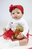 silicone baby dolls - Lovely Kara Silicone Lifelike Baby Doll Reborn Baby dolls Handmade Baby Child Gift