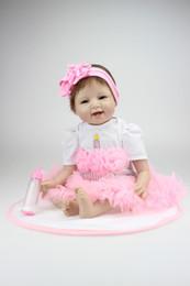 Wholesale inch Silicone Reborn Baby dolls Handmade Lifelike Baby Doll Baby Toy Children Gift