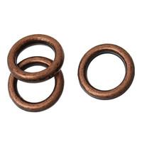 achat en gros de antiques anneaux de cuivre de saut-B55981 Fermoir Anneaux à Coupure Soudés Cercle Anneau Copper Antique 6mm Dia, 1500 PCs 2015 new