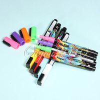 neon paint - SALE x Colors Neon Waterproof Paint Pen Highlighters Liquid Chalk Board Glass Sign Marker Marking Permanent Writting