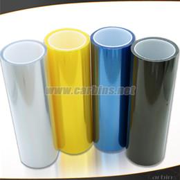 Changement de couleur des phares en Ligne-Vente en gros - un rouleau 0.3 * 10m de couleur auto phare et queue de protection de la lumière film de couleur changeant de vinyle