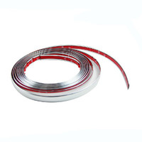 auto body trims - Auto Body chrome trim window moldings bumper bright strip mm m Wide Genuine M car sticker