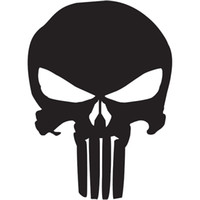 Wholesale quot The Punisher Skull Vinyl Decal Car Window Sticker Marvel Comics