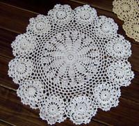 Wholesale cs crochet white doilies doilies for wedding decor