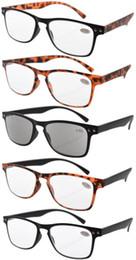 Wholesale Ultrathin Flex Frame R046 pack s Wayfarer Reading Glasses Sun Readers R046